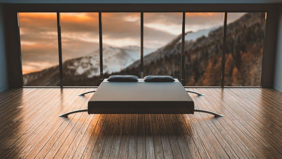 white-black-mattress