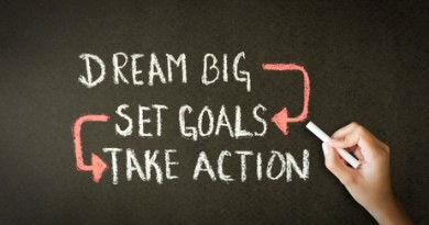 Dream Big-Set Goals-Take Action