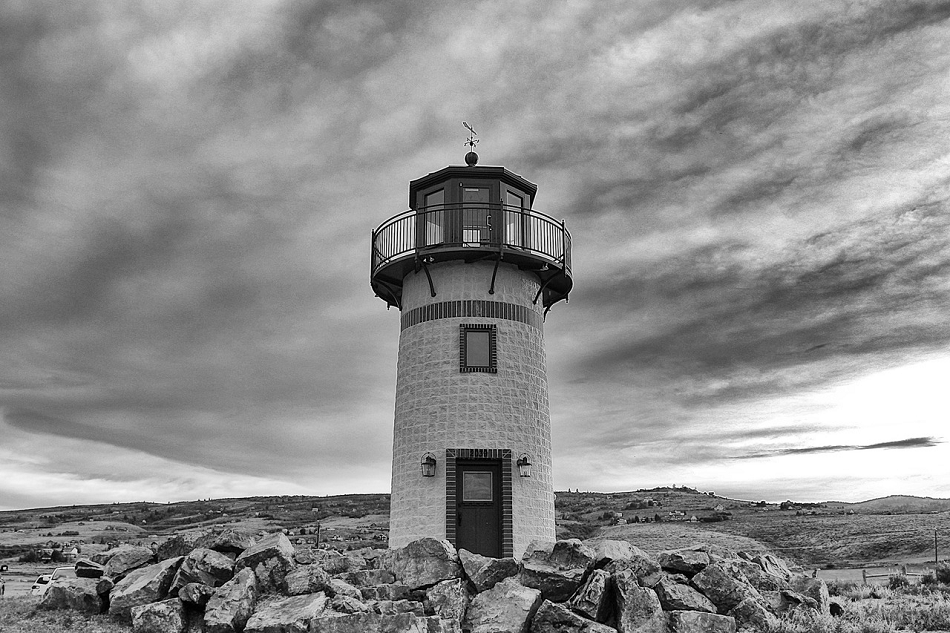 lighthouse-on-a-hill-black-and-white