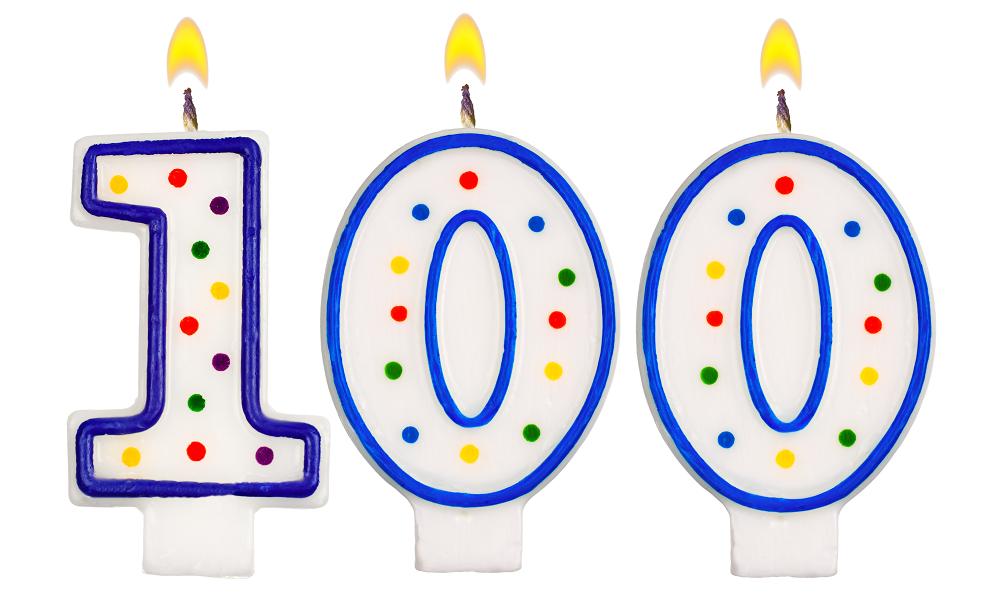 100 celebration
