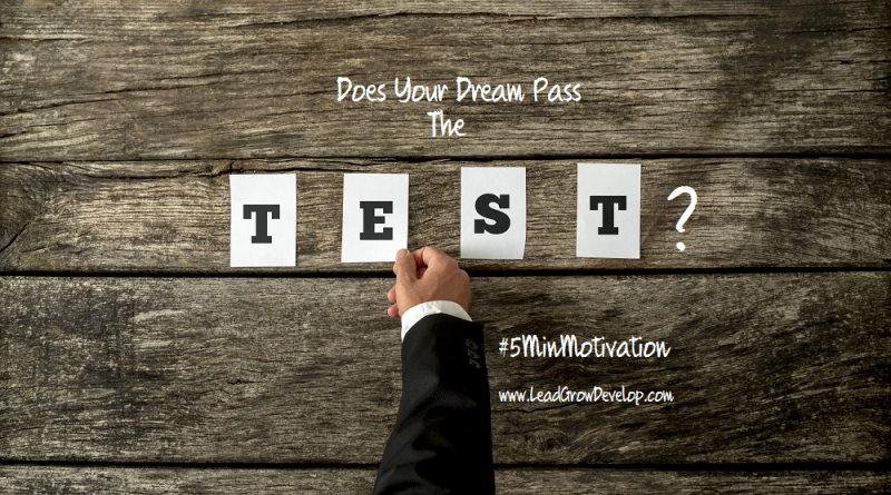 does-your-dream-pass-the-test