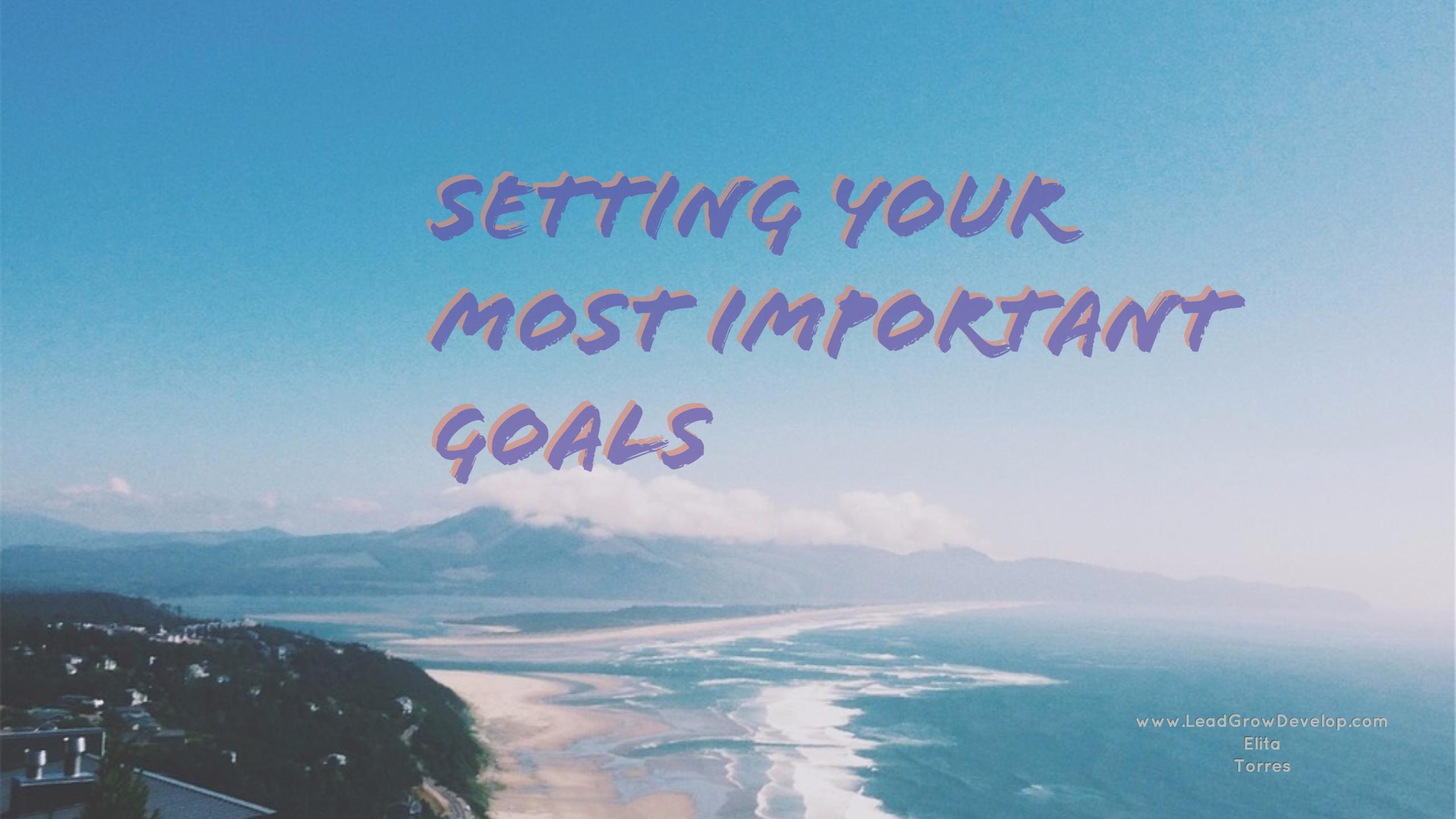 setting-most-important-goals