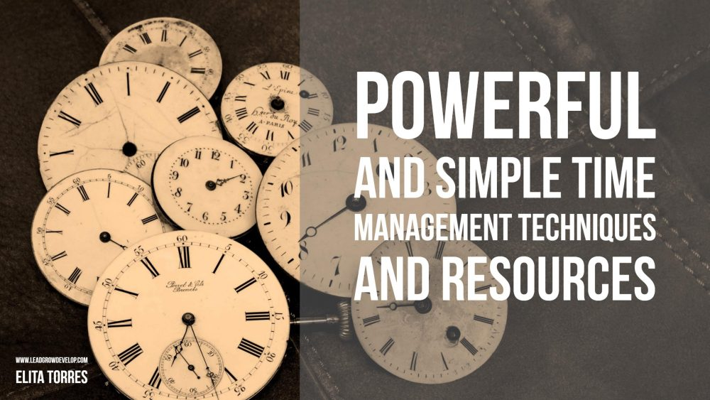 time-management-techniques-resources