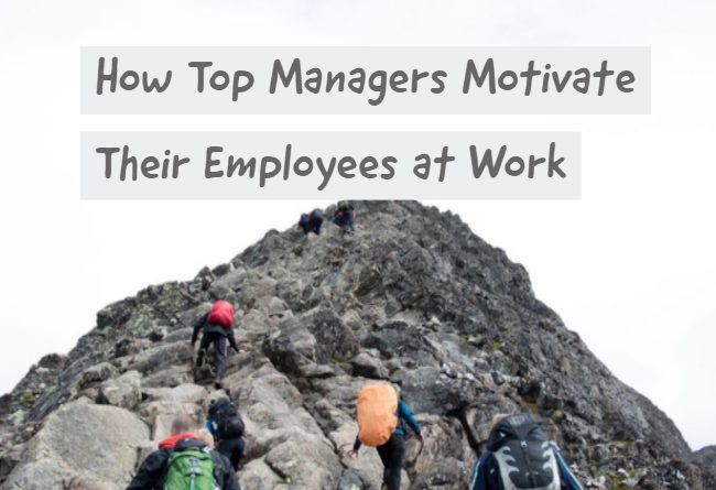 how-managers-motivate-employees