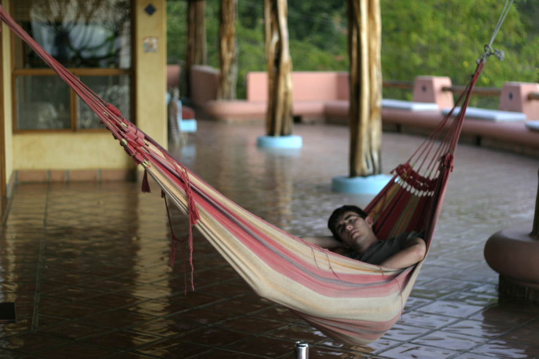 sleeping-on-hammock