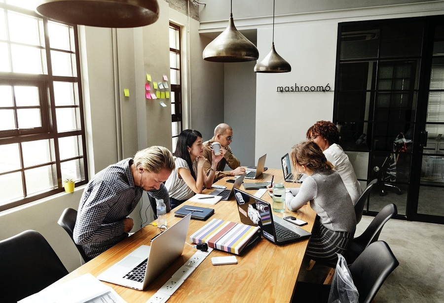 business-setting-customer-relations