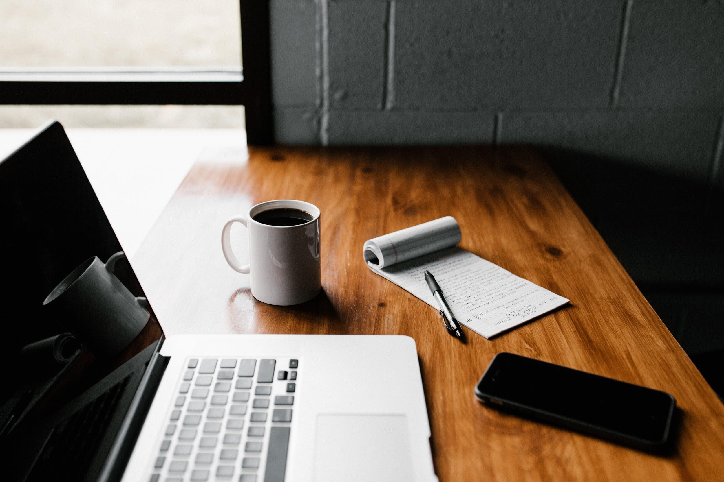 laptop-notepad-cellphone