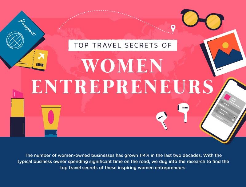 Top Travel Secrets Of Women Entrepreneurs