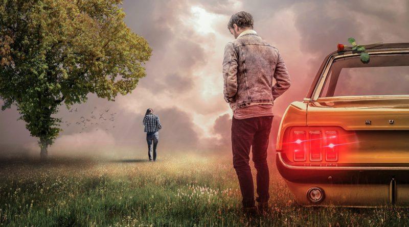 couple-relationship problems-man-woman walking away