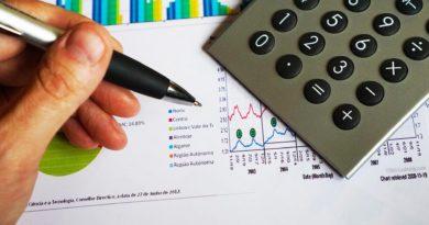 calculator-finance-reports
