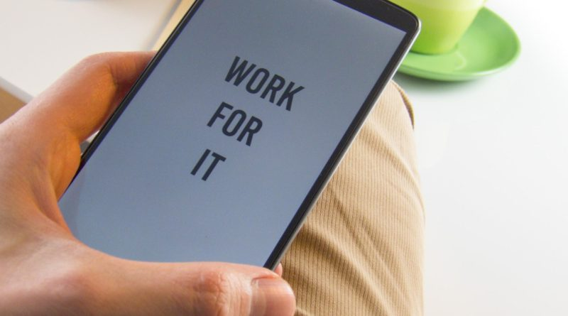 work for it-cellphone-business