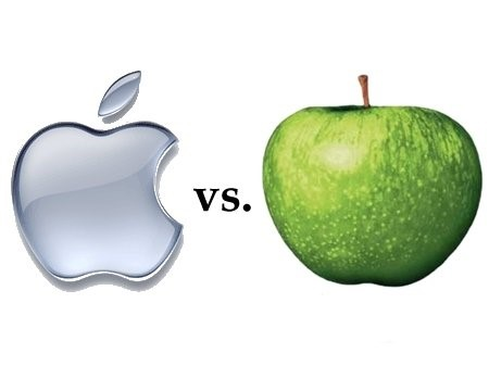 apple logo vs apple