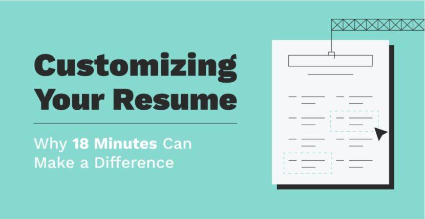 customizing-your-resume
