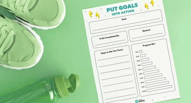 put goals into action download goals template