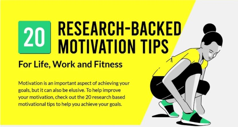 20 science backed ways to stay motivated