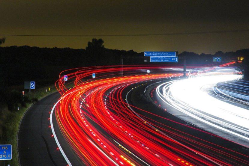 Traffic-Highway-Lights-Night-Speed-Road