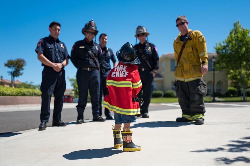 fire chief-fireman-life fire fighter