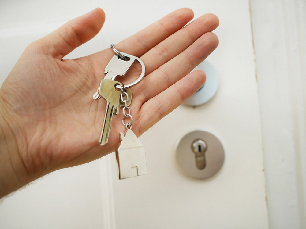 house keys-home-purchase-entry